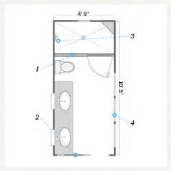 floor plan after a bath that s still narrow but
