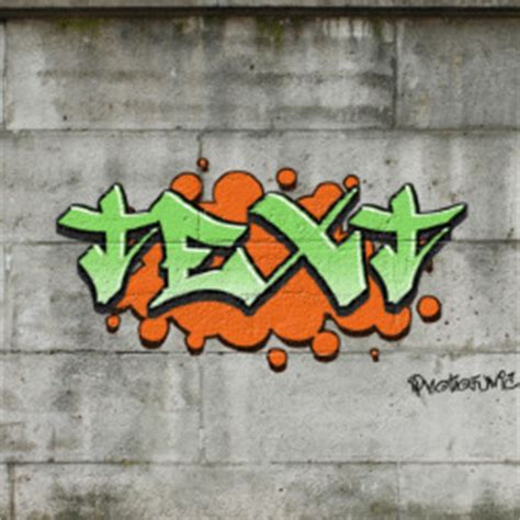graffiti text photofunia  photo effects
