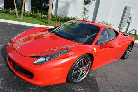 Used 458 Italia by Used 2011 458 Italia For Sale 166 900 Marino
