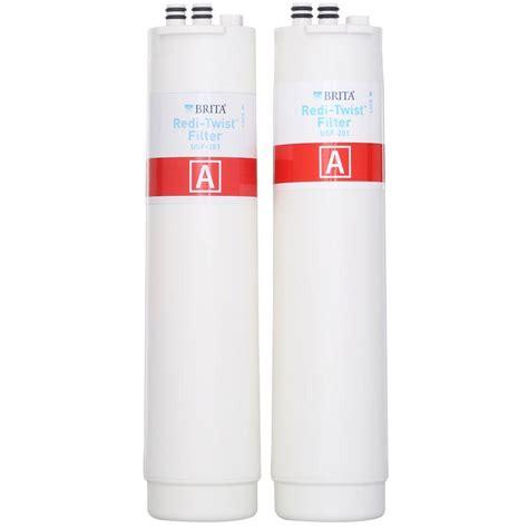 brita under sink water filter brita redi twist reverse osmosis replacement filter set