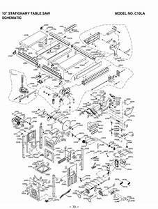 Hitachi C10la Parts