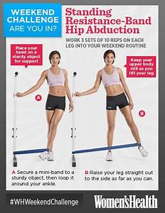 Weekend Challenge: Standing Resistance-Band Hip Abduction ...