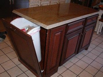 ideas  trash  cabinet  pinterest trash bins kitchen trash cans   holders