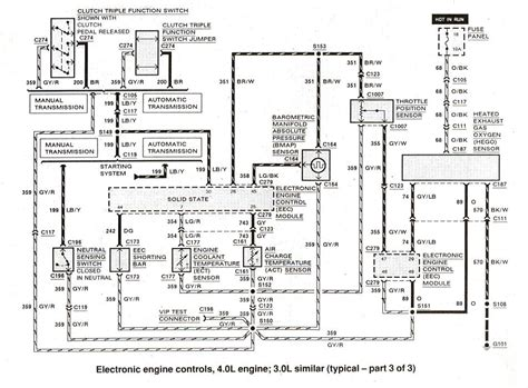1991 Ford Ranger Engine Diagram by Ford Ranger Cluster Wiring 1st Wiring Diagram