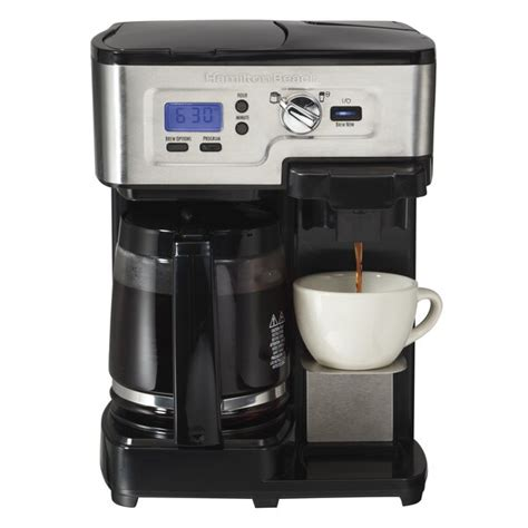 The ovalware cold brew coffee maker is not like other affordable models in that it comes equipped with every feature present in more. Hamilton Beach 2-Way Flex Brew Coffee Maker | Joss & Main