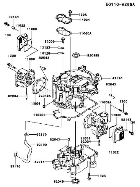 Kawasaki Fc540v Parts by Engine Kawasaki Manual Fc540v