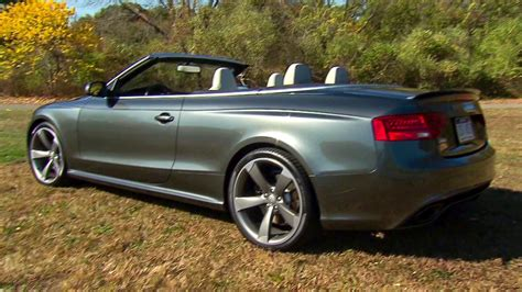 Audi Cabriolet Convertible With Room For Video