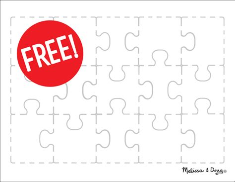 create   puzzle printable kids activity melissa