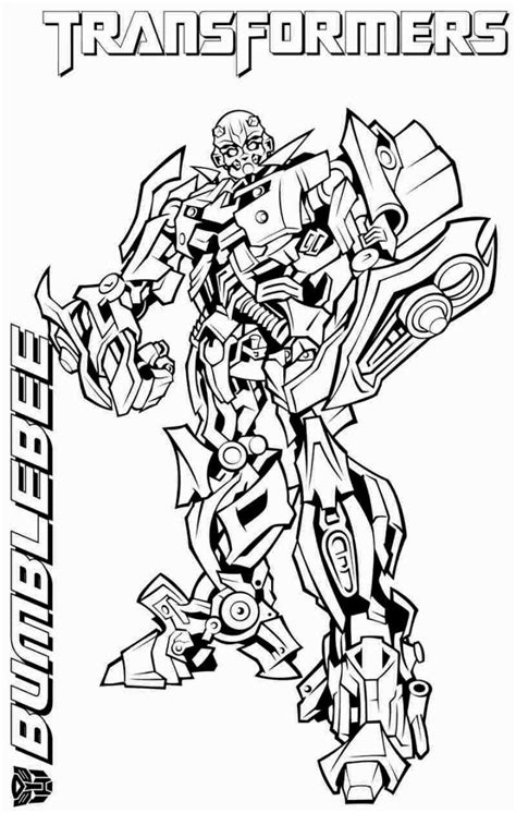 Coloring Transformer by Transformers Coloring Pages Bumblebee Coloring Pages