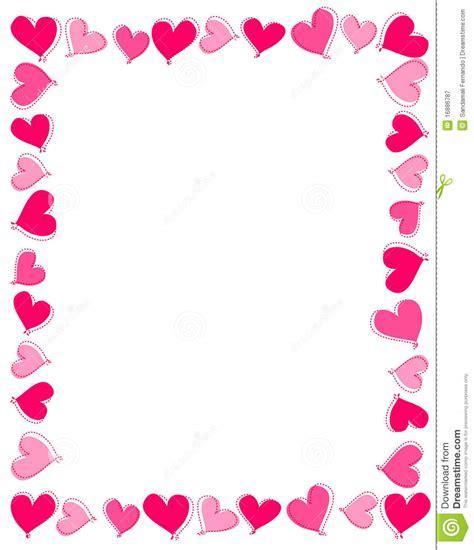 clipart heart border - Clipground