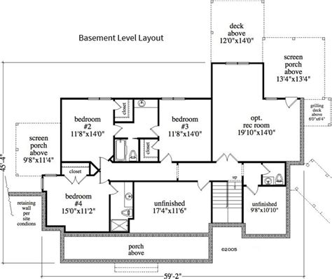bedroom  bath cottage house plan alp  allplanscom