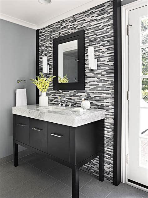 Single Vanity Design Ideas. U Shaped House Plans. Candice Olson. Alaska White Granite Countertops. Glass Sconces. Red Bookshelf. Star Tile. Open Shelves. Etagere