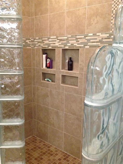 What Are Shower Walls Made Of - ready for tile shower base for a glass block shower