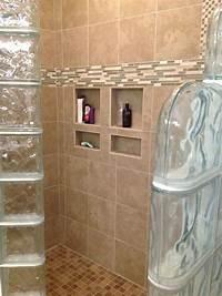 glass shower walls Ready for tile shower base for a glass block shower ...