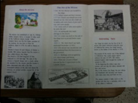 4th grade mission project template ca missions welcome to mrs kang s website room b11