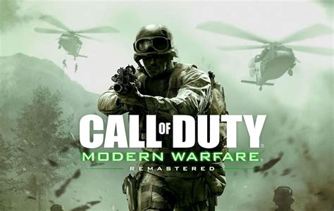 Modern Warfare Remastered Download Size