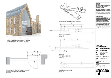 technical drawing detailing  behance