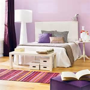 White and Purple Bedroom Ideas