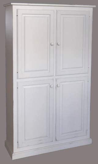 36 Inch Wide Pantry Cabinet by 4 Door Wide Pantry Cupboard