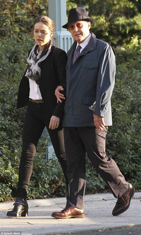 James Spader and Megan Boone