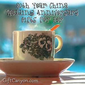20th year china wedding anniversary gifts for her gift With 20th wedding anniversary gifts for her
