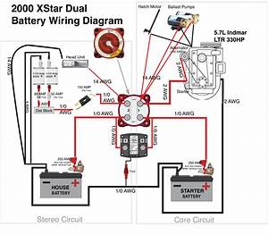 Boat Dual Battery Wiring Diagram For Yanmar Diesel