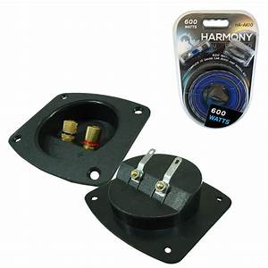 Car Audio Accessory Subwoofer Box Enclosure Wire Plastic
