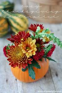 A, Sprinkle, Of, This, And, That, Thanksgiving, Centerpiece, Ideas