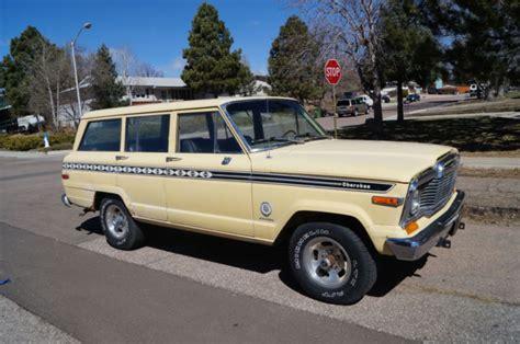 1979 jeep cherokee chief 1979 jeep cherokee chief wagoneer fsj 360 4 speed grand