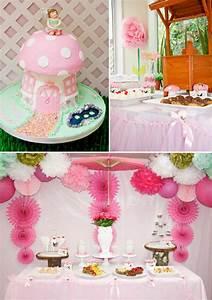Kara's Party Ideas Pink Fairy Girl Woodland Tinkerbell ...