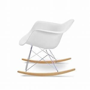 Eames Chair Weiß : den eames schaukelstuhl in wei kaufen eames rar bei ~ Markanthonyermac.com Haus und Dekorationen