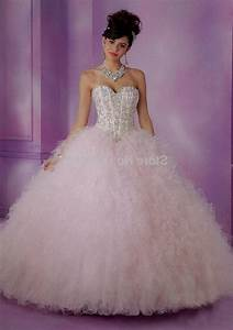 Pink And White Quinceaneras Dresses | Great Ideas For ...