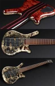 carl thompson 6 string fretless - les rainbow bass.....my ...