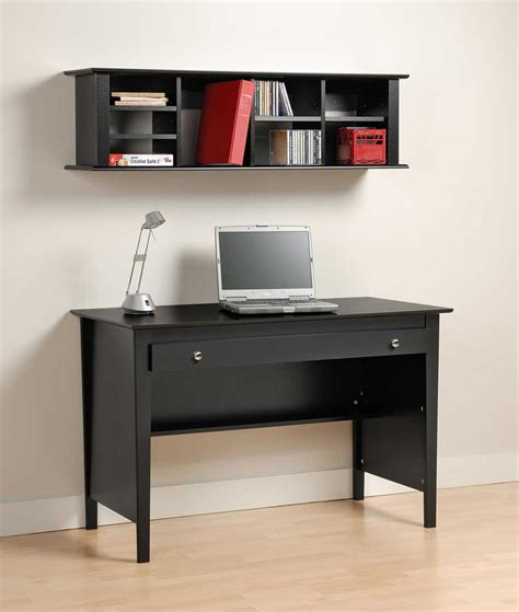 modern computer desk with hutch computer secretary desk home office