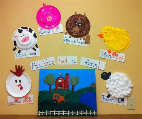 preschool had a farm the each made a farm animal 294 | 555dec38c2f5fc92a415a9d69145693b