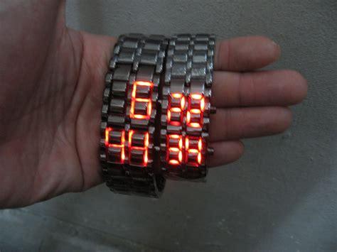 jam samurai led semsup jam tangan led iron samurai hidupunik