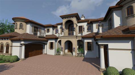 Plan 31828DN: Mediterranean House Plan Filled with Luxury