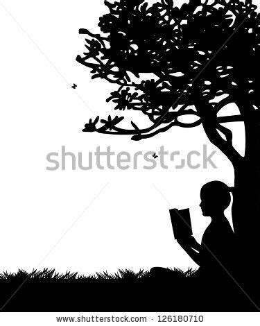 Girl reading a book under the tree | Tattoos | Girl