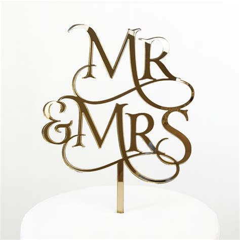 Magical Mr And Mrs Cake Topper Sandra Dillon Design