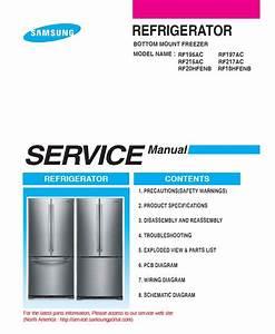 Samsung Rf18hfenbsr Rf18hfenbww Rf18hfenbbc Refrigerator