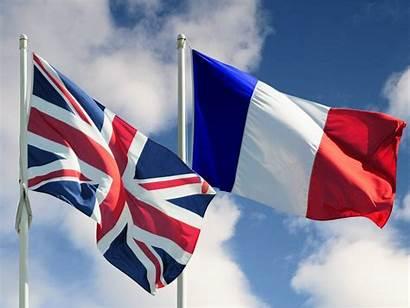 French British Flags Mandates