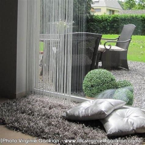 tapis shaggy gris beige par arte espina