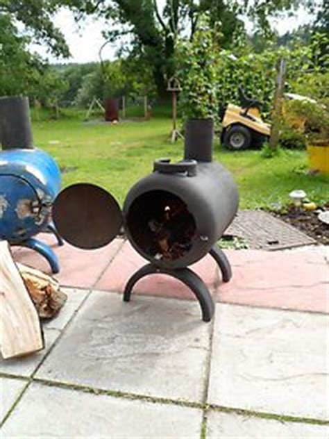 1000 images about chiminea smoker on log