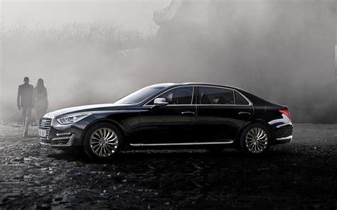 genesis eq  luxury midsize sedan genesis korea
