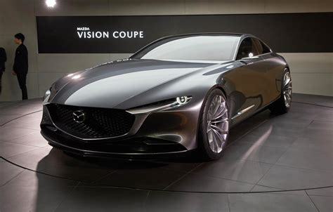 mazda embraces minimalism  vision coupe concept