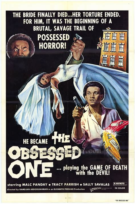 The Obsessed One Movie Posters From Movie Poster Shop