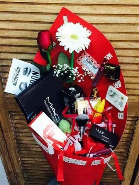 pin  alejandra escarzaga  makeup makeup gifts basket