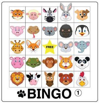 esl games animal bingo donald oconnor classroom  esl