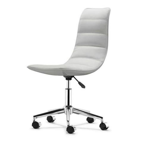 eather office chairs without arms
