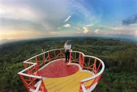 lokasi  rute bukit cinta bayat klaten spot selfie